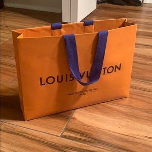 Louis Vuitton Gift Bag (small)